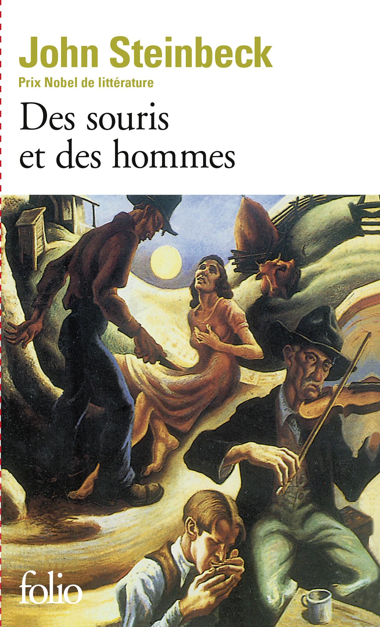 FOLIO - DES SOURIS ET DES HOMMES