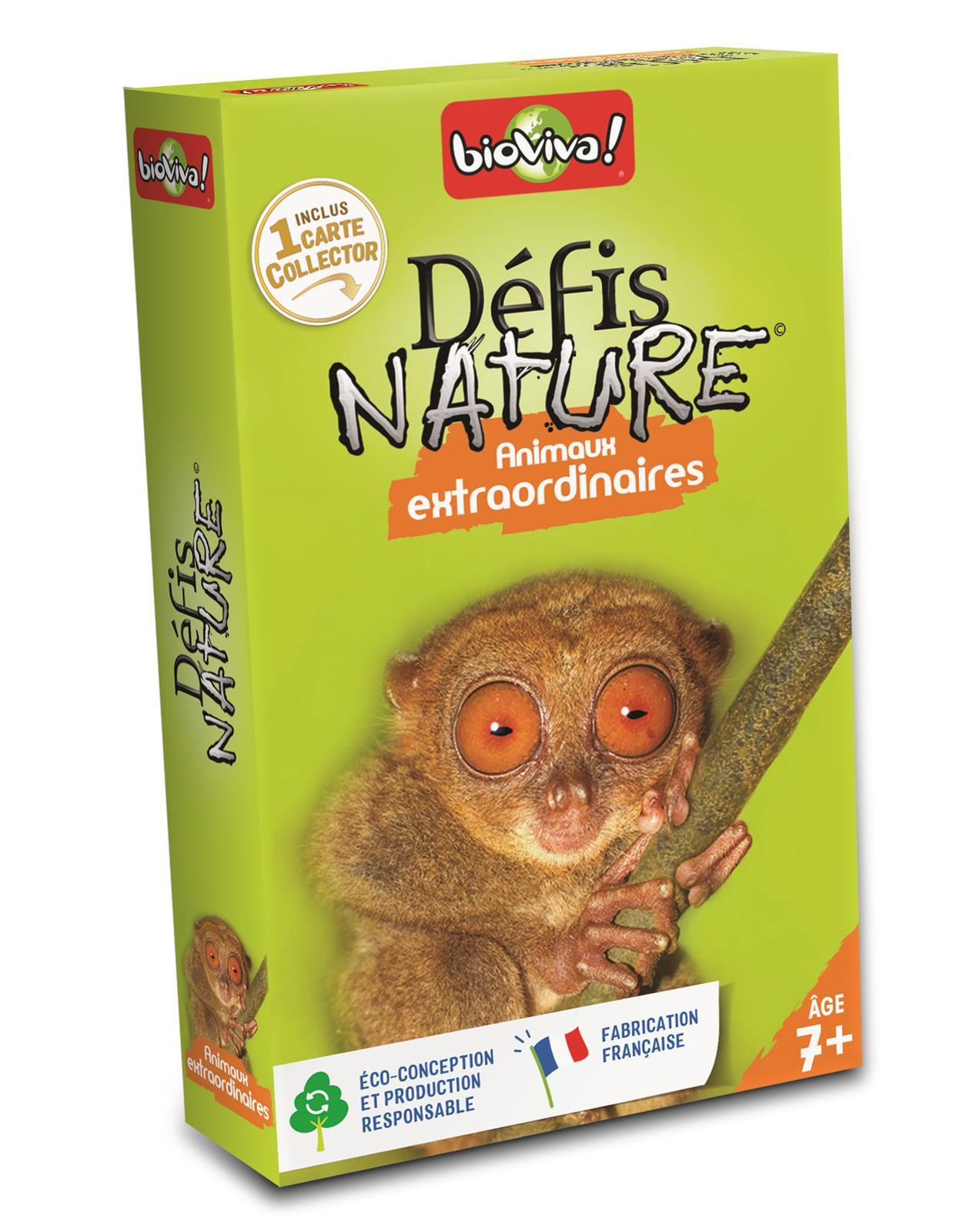 DEFIS NATURE - ANIMAUX EXTRAORDINAIRES