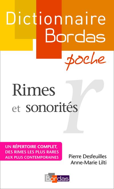 DICTIONNAIRE BORDAS POCHE RIMES ET SONORITES