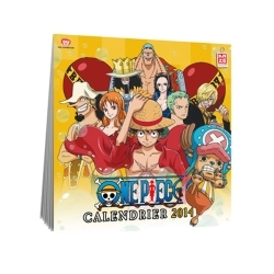 CALENDRIER 2014 ONE PIECE