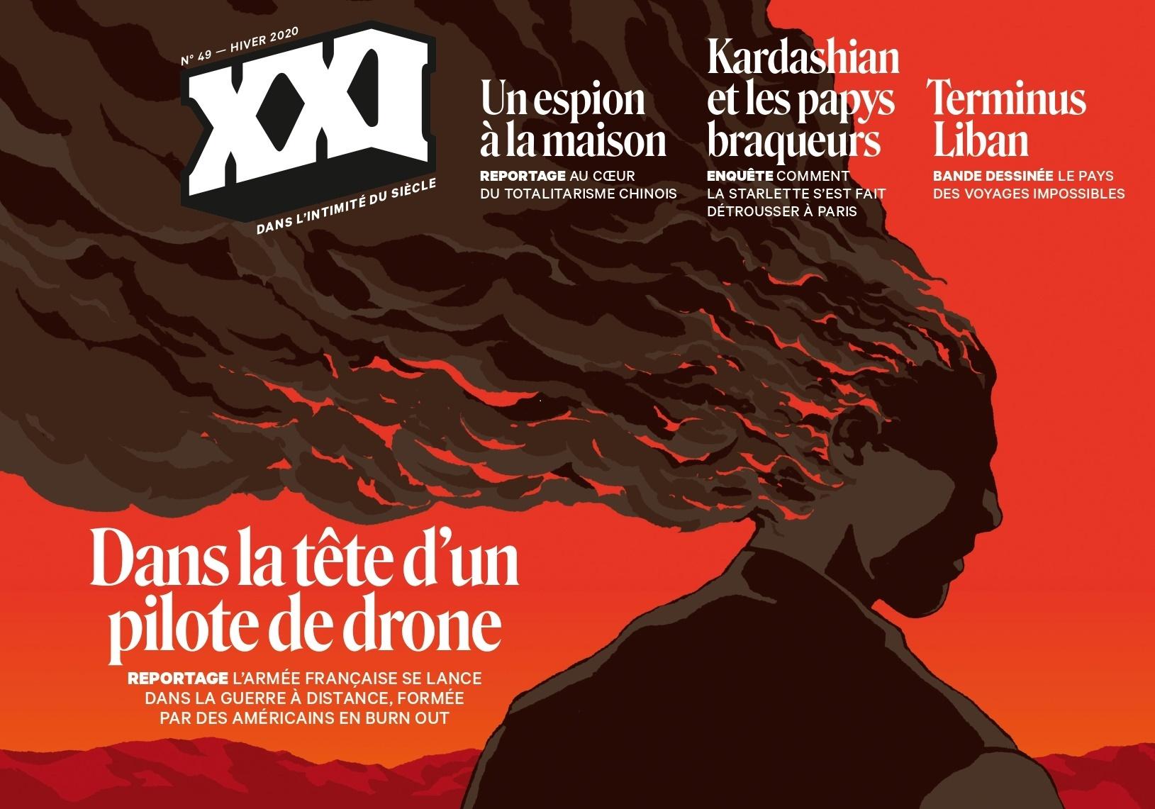 REVUE XXI N  49 : DANS LA TETE D'UN PILOTE DE DRONE