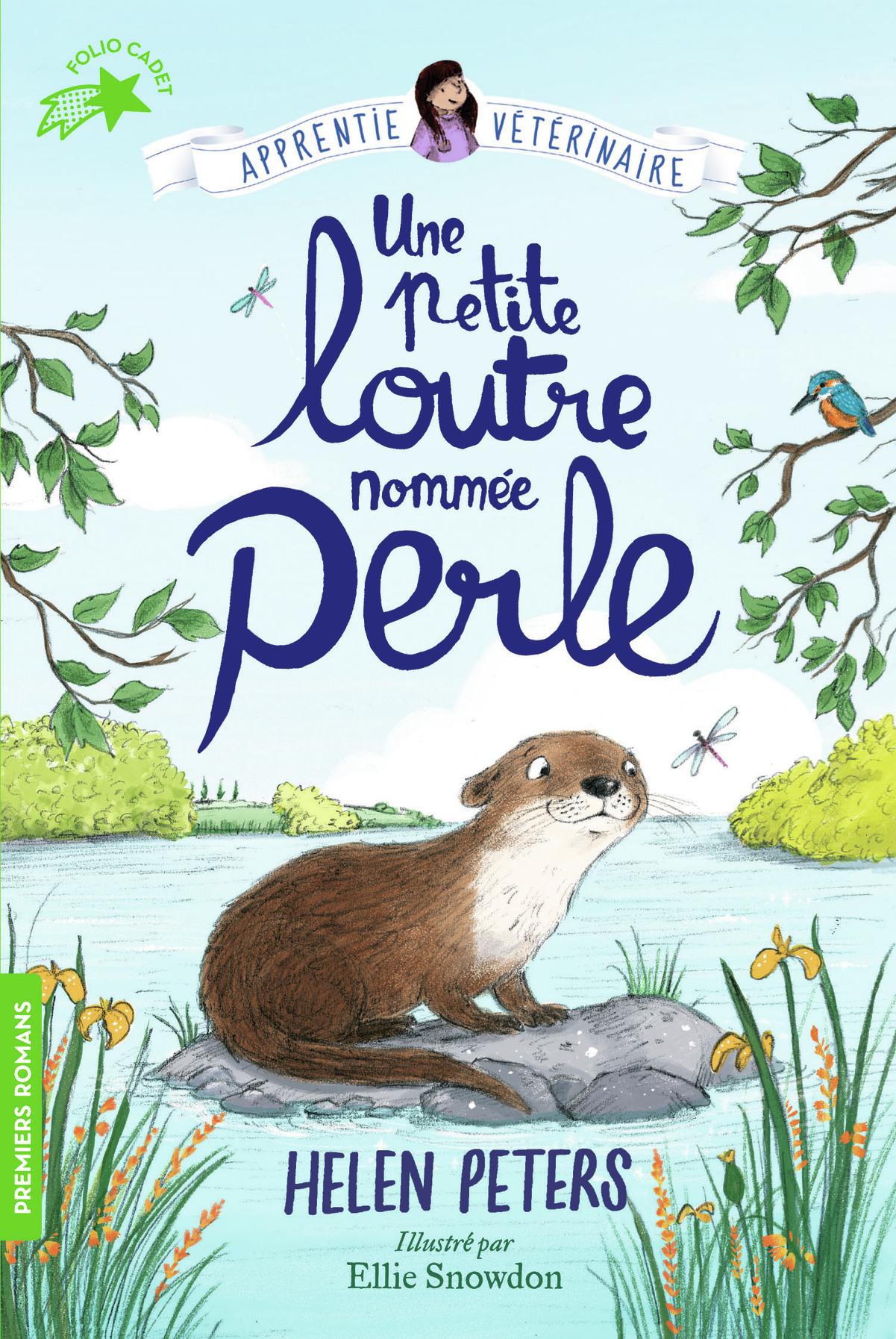 JASMINE, L'APPRENTIE VETERINAIRE, 6 : UNE PETITE LOUTRE NOMMEE PERLE