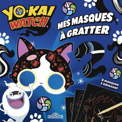YO-KAI WATCH - MES MASQUES A GRATTER