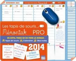 TAPIS DE SOURIS  MEMONIAK PRO 2014