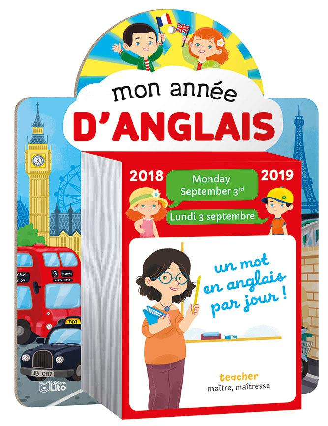 MON ANNEE ANGLAIS 2018-2019