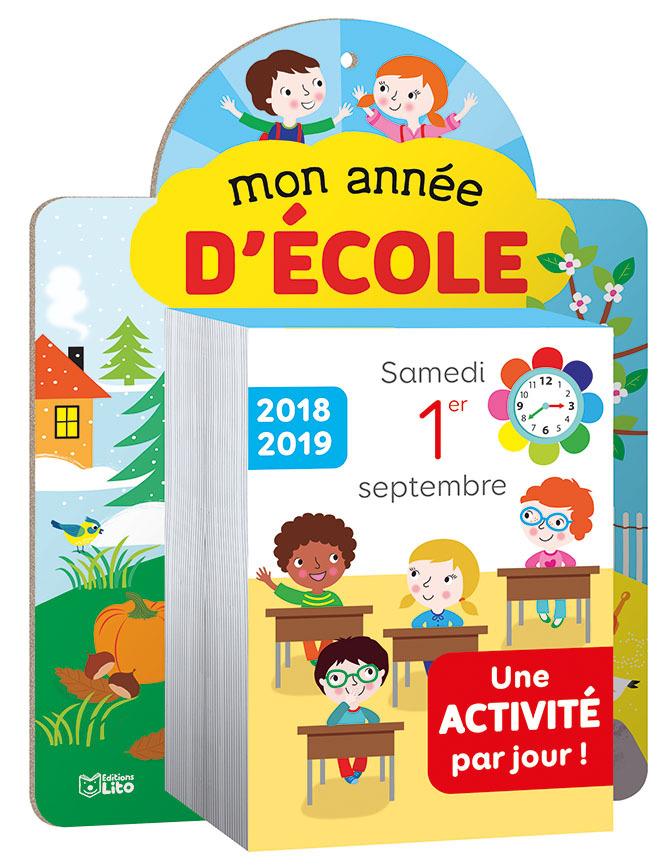 MON ANNEE D'ECOLE 2018-2019