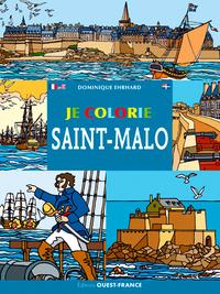 Je colorie Saint-Malo
