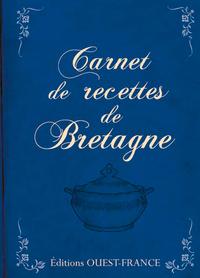Carnet de recettes Bretagne