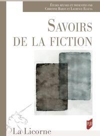 Savoirs de la fiction