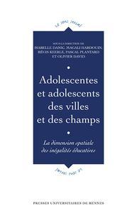 Adolescentes, adolescents des villes et des champs