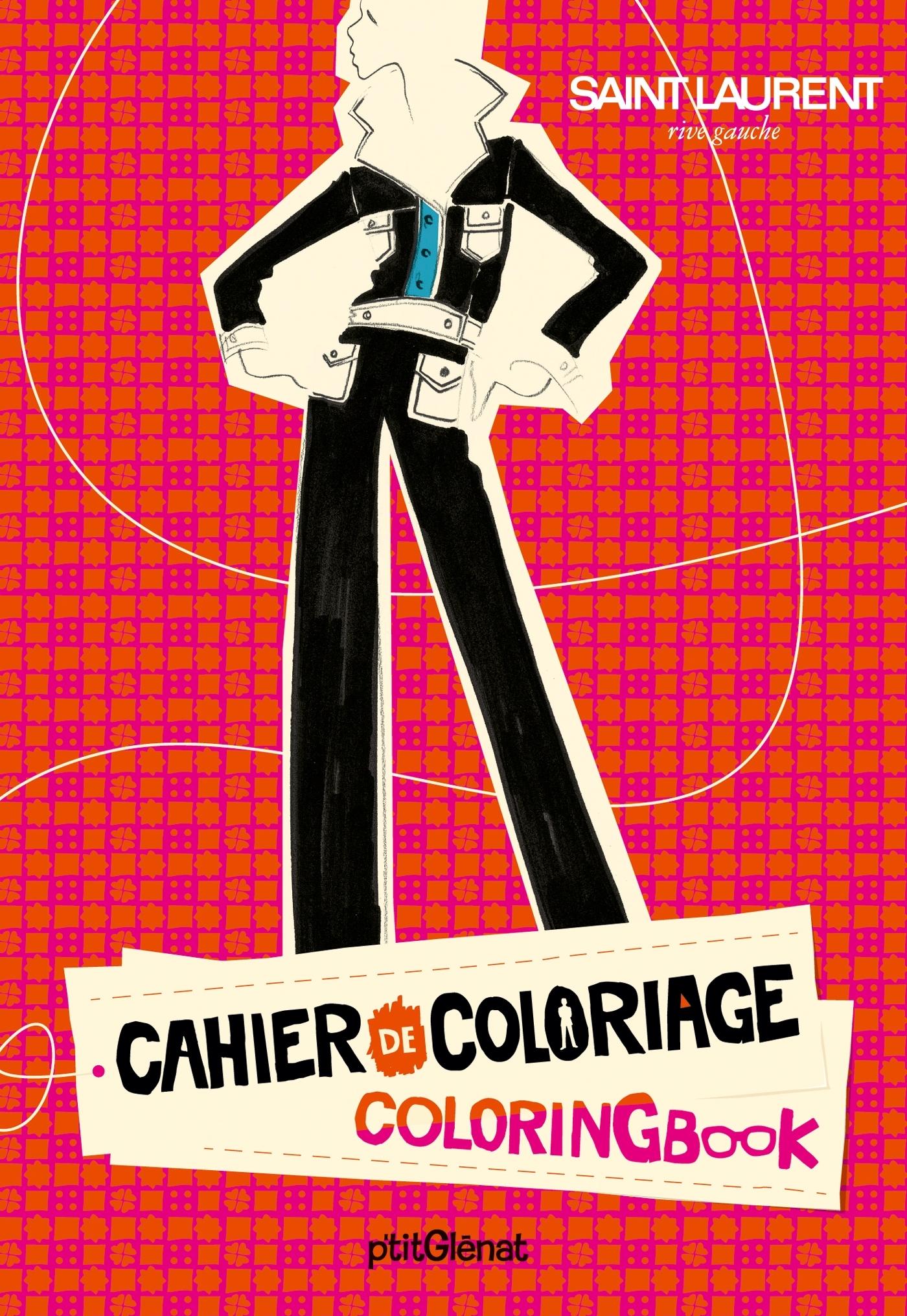 CAHIER DE COLORIAGE PRET-A-PORTER - POCHE