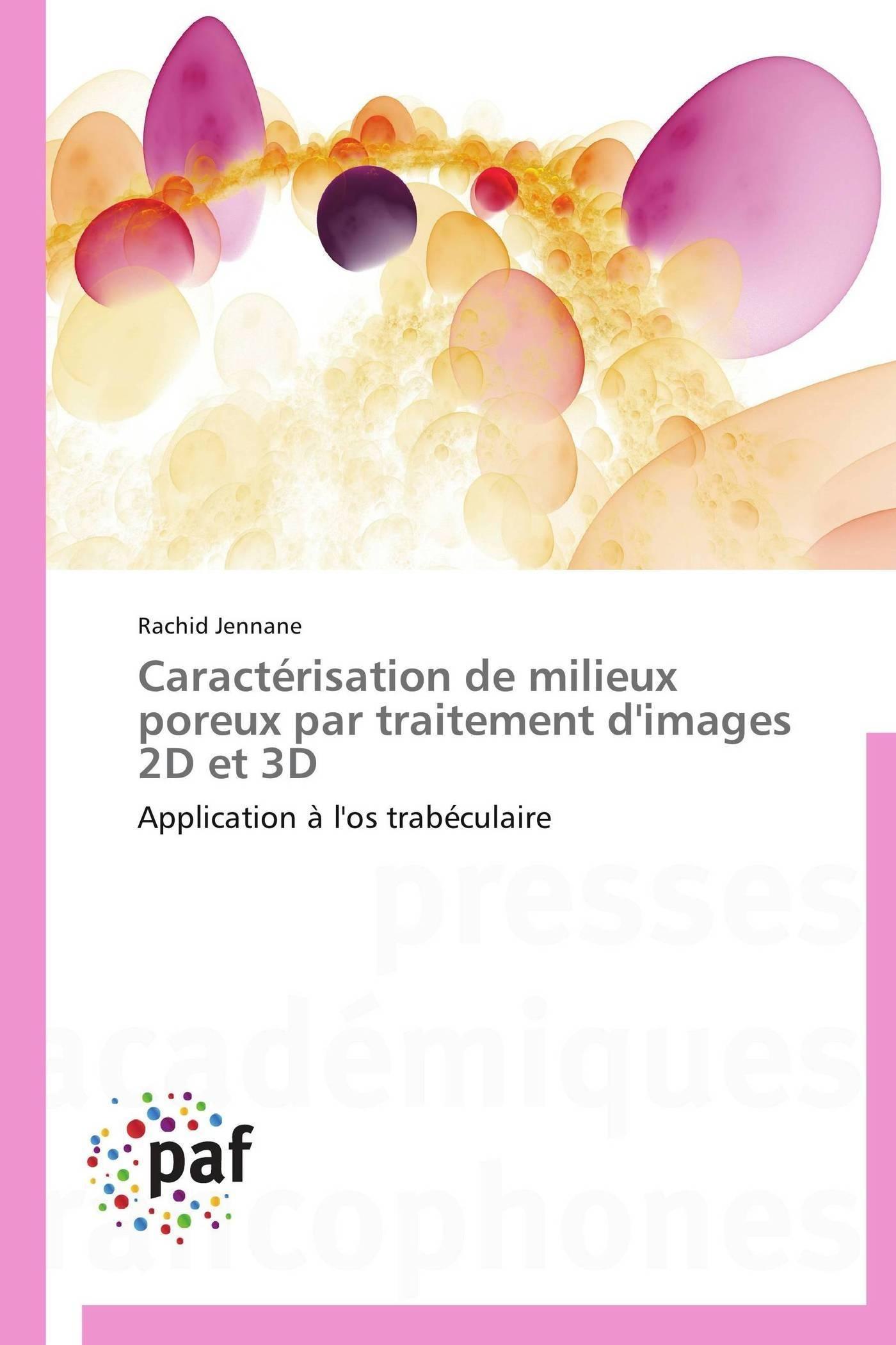 CARACTERISATION DE MILIEUX POREUX PAR TRAITEMENT D'IMAGES 2D ET 3D