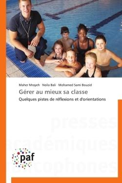 GERER AU MIEUX SA CLASSE