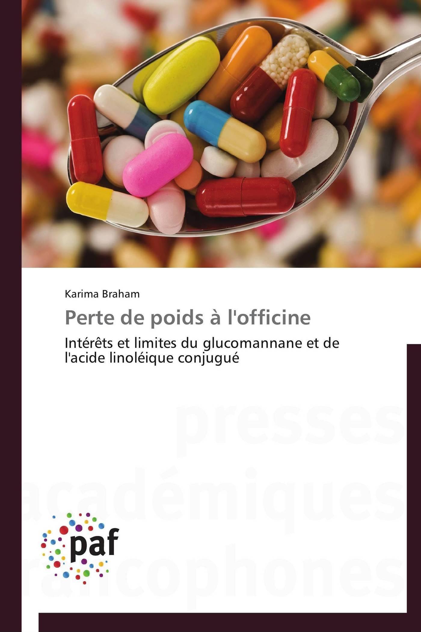 PERTE DE POIDS A L'OFFICINE