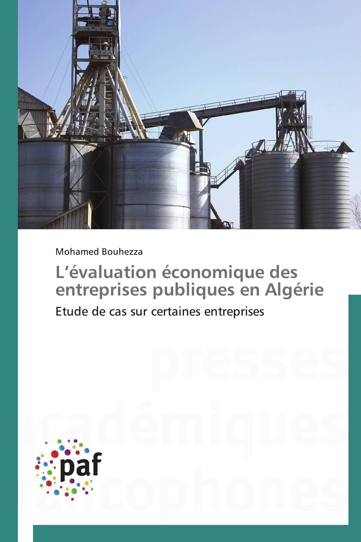 L EVALUATION ECONOMIQUE DES ENTREPRISES PUBLIQUES EN ALGERIE