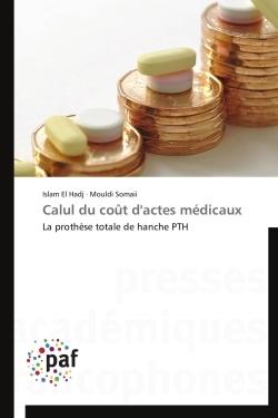 CALUL DU COUT D'ACTES MEDICAUX