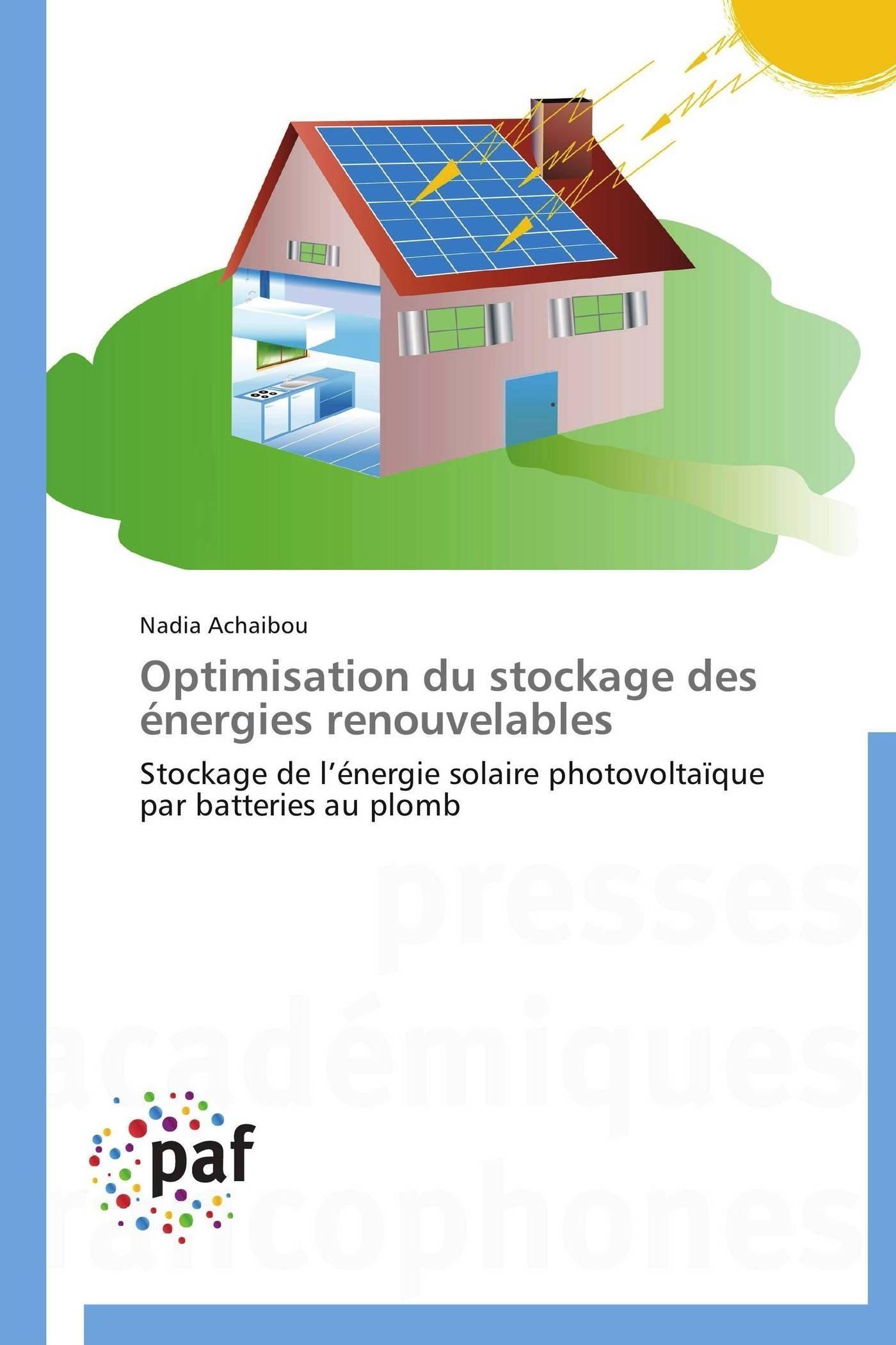 OPTIMISATION DU STOCKAGE DES ENERGIES RENOUVELABLES