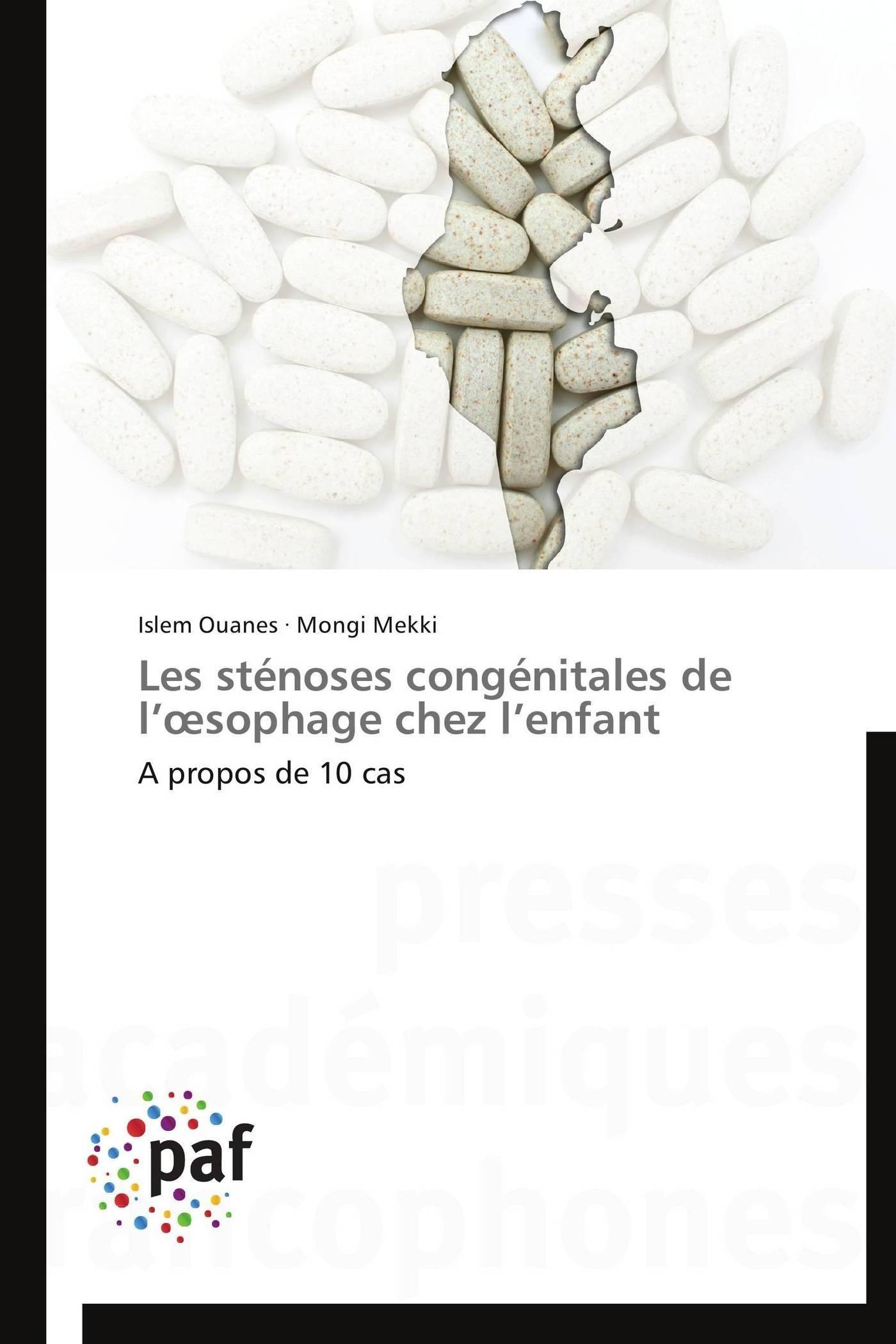 LES STENOSES CONGENITALES DE L  SOPHAGE CHEZ L ENFANT