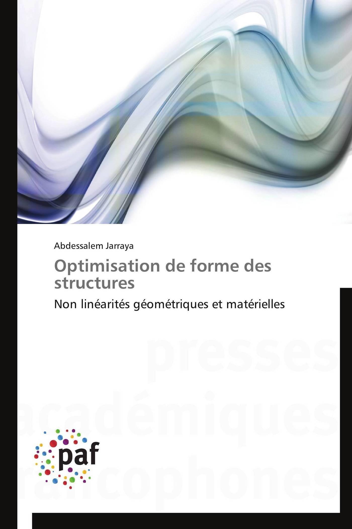 OPTIMISATION DE FORME DES STRUCTURES