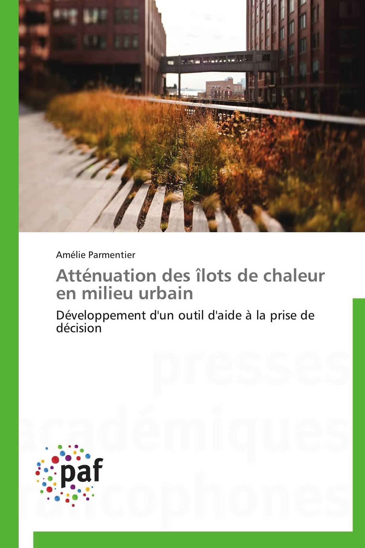 ATTENUATION DES ILOTS DE CHALEUR EN MILIEU URBAIN
