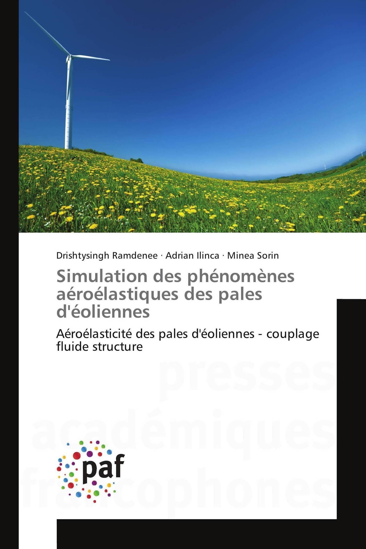 SIMULATION DES PHENOMENES AEROELASTIQUES DES PALES D'EOLIENNES