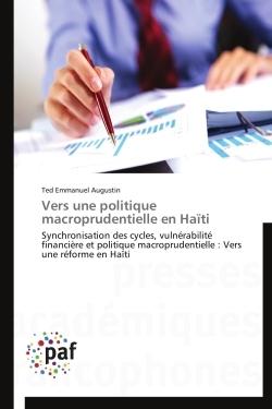 VERS UNE POLITIQUE MACROPRUDENTIELLE EN HAITI