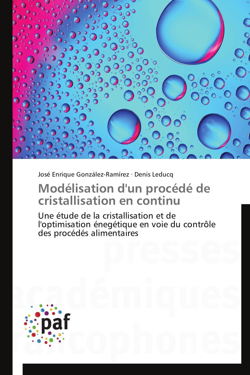 MODELISATION D'UN PROCEDE DE CRISTALLISATION EN CONTINU