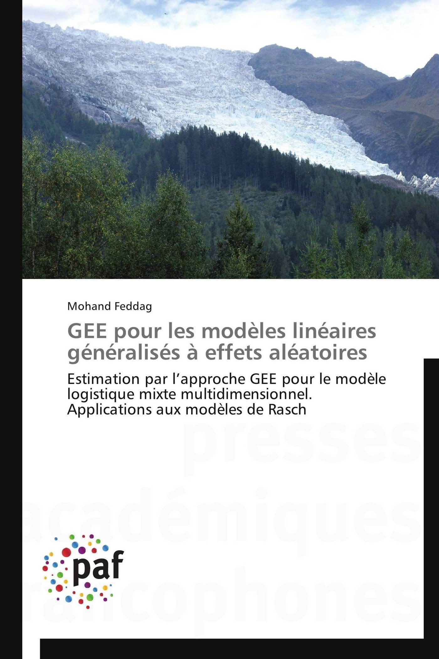 GEE POUR LES MODELES LINEAIRES GENERALISES A EFFETS ALEATOIRES