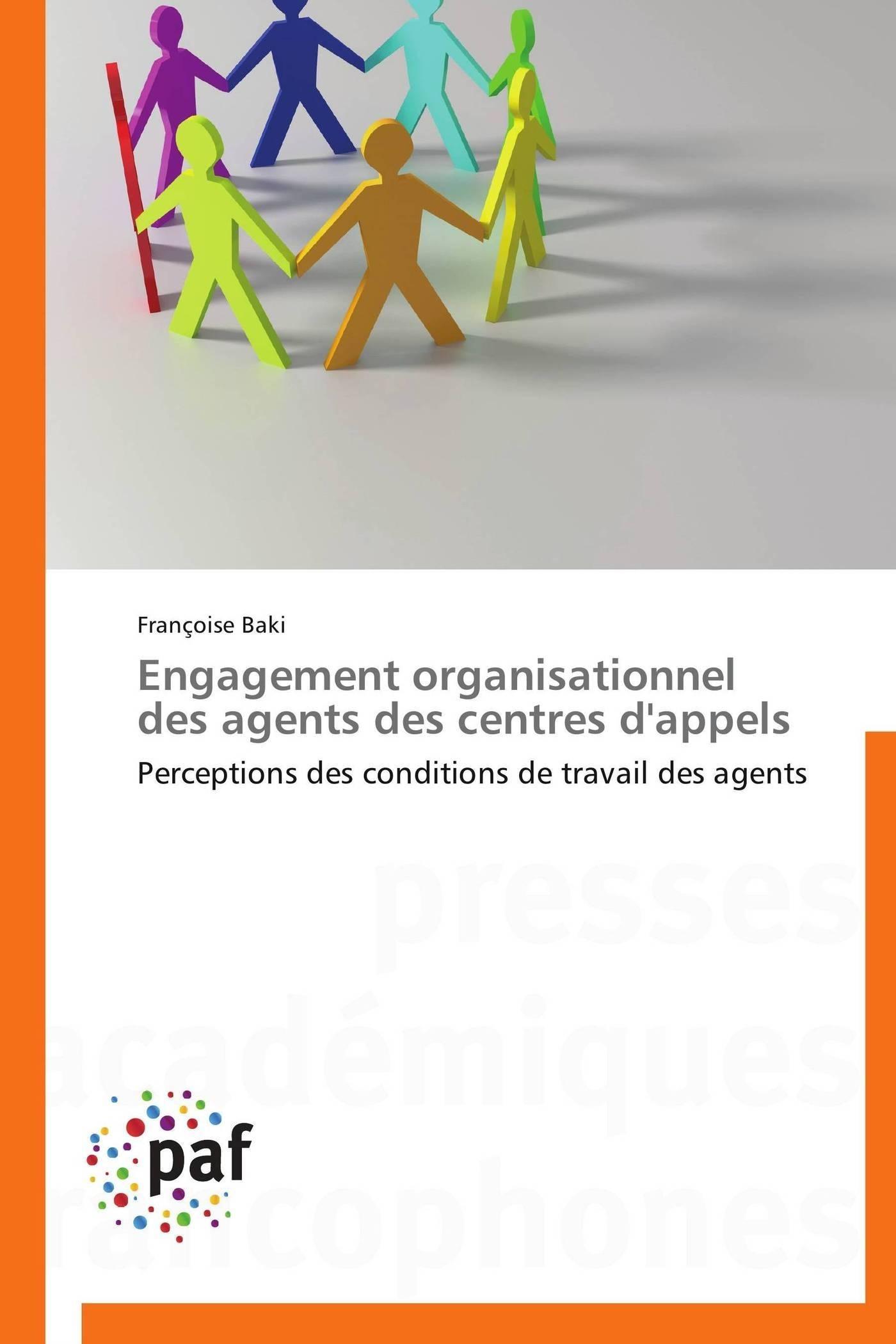 ENGAGEMENT ORGANISATIONNEL DES AGENTS DES CENTRES D'APPELS