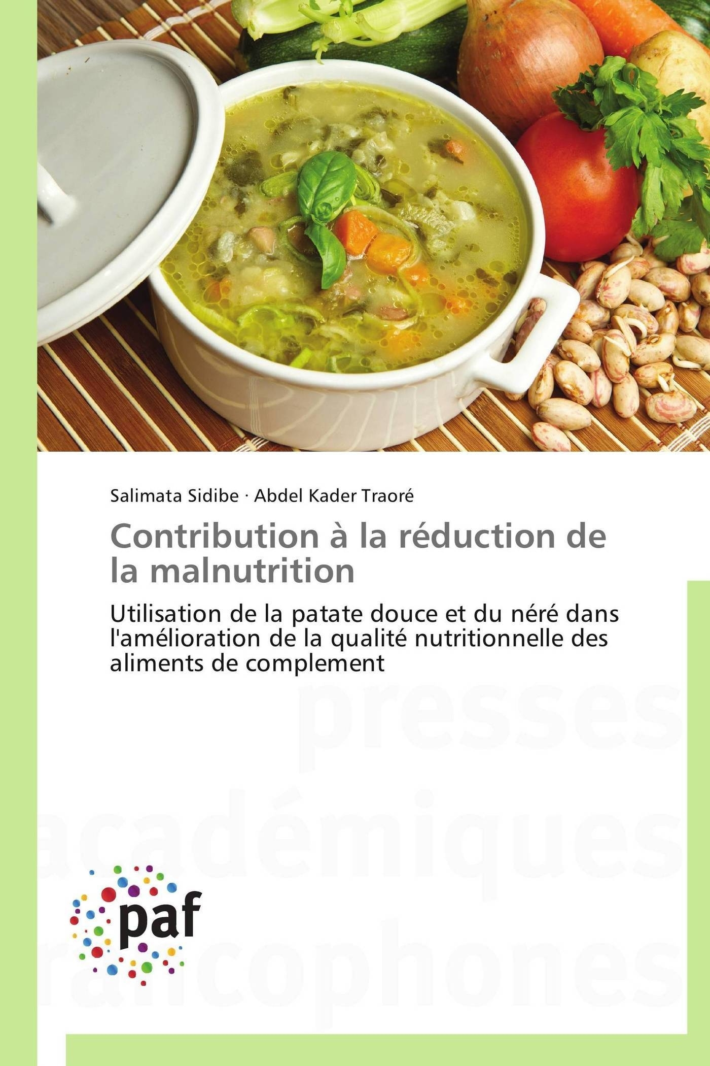 CONTRIBUTION A LA REDUCTION DE LA MALNUTRITION