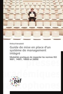 GUIDE DE MISE EN PLACE D'UN SYSTEME DE MANAGEMENT INTEGRE