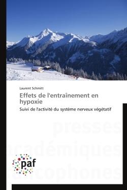 EFFETS DE L'ENTRAINEMENT EN HYPOXIE
