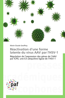 REACTIVATION D UNE FORME LATENTE DU VIRUS AAV PAR L'HSV-1