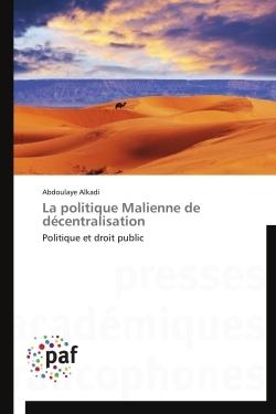LA POLITIQUE MALIENNE DE DECENTRALISATION