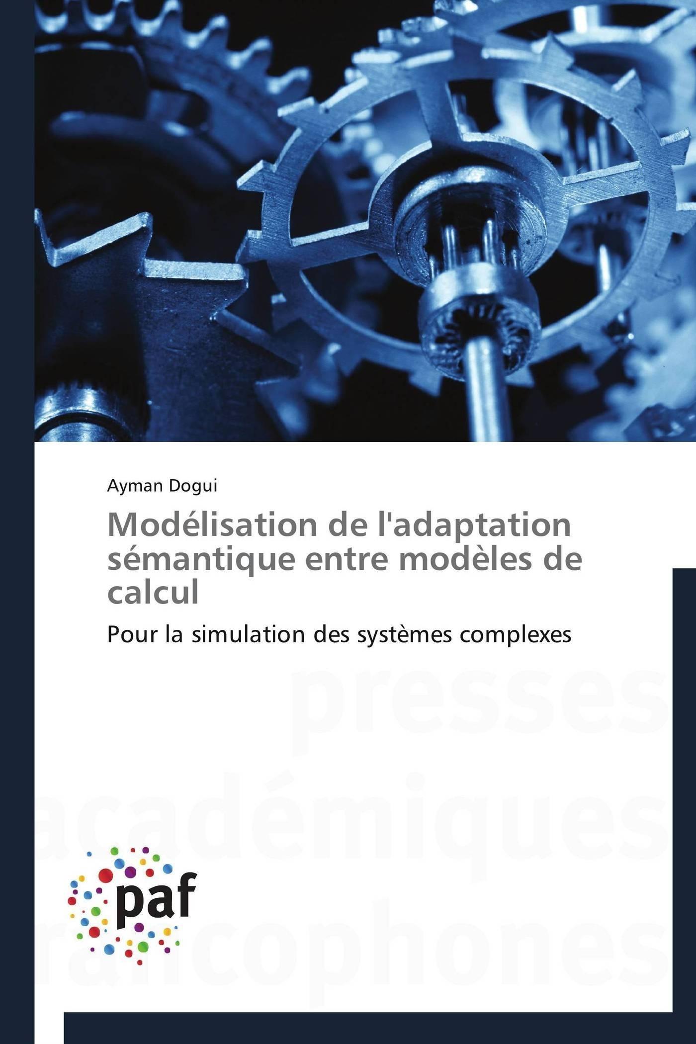 MODELISATION DE L'ADAPTATION SEMANTIQUE ENTRE MODELES DE CALCUL