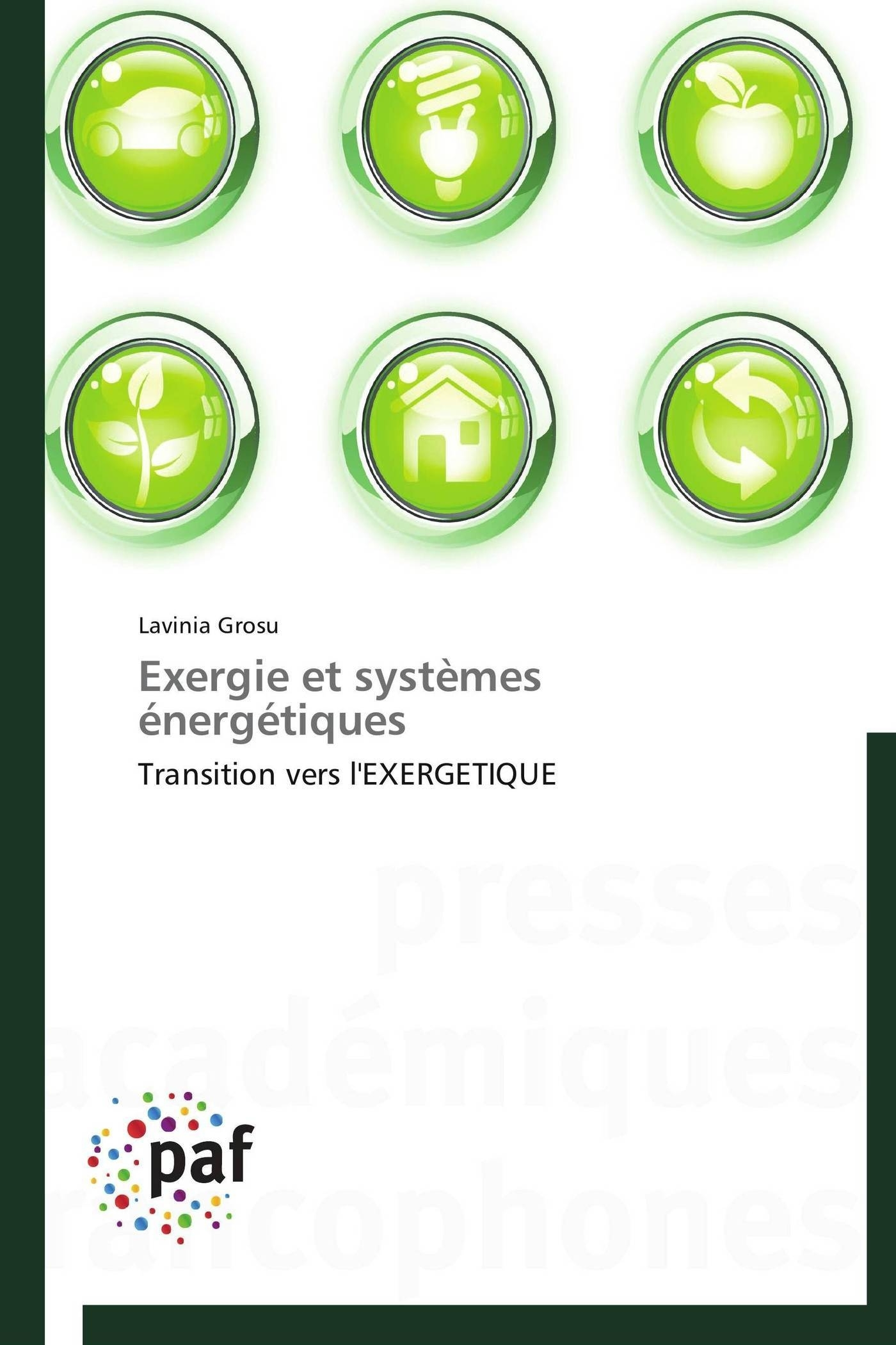EXERGIE ET SYSTEMES ENERGETIQUES