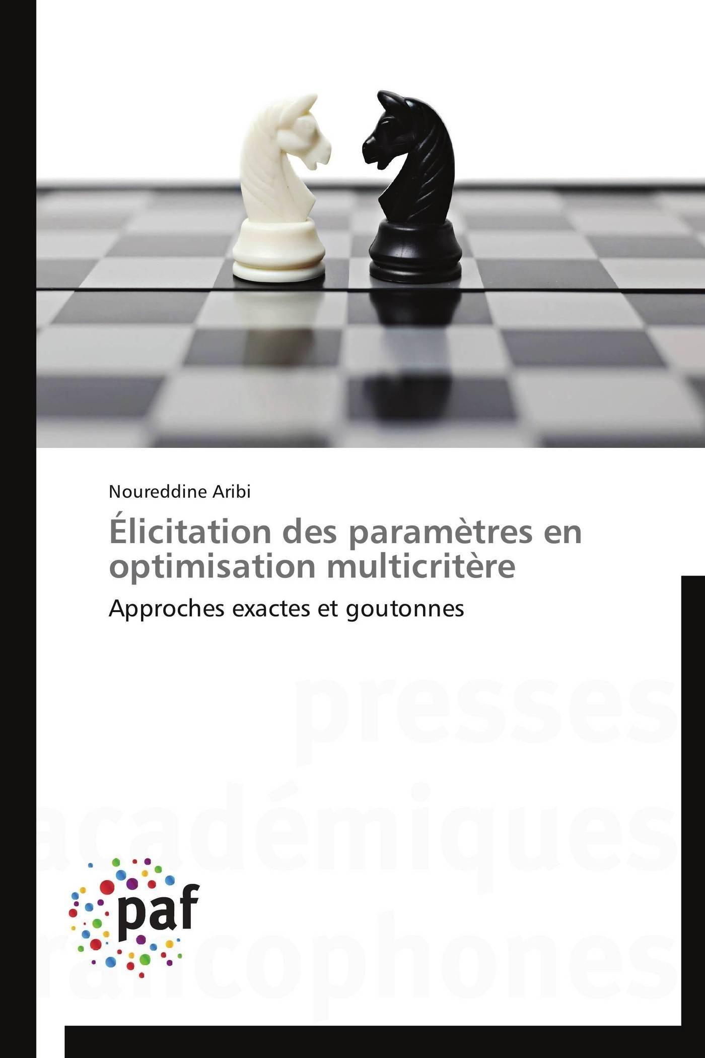 ELICITATION DES PARAMETRES EN OPTIMISATION MULTICRITERE