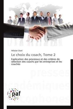 LE CHOIX DU COACH, TOME 2