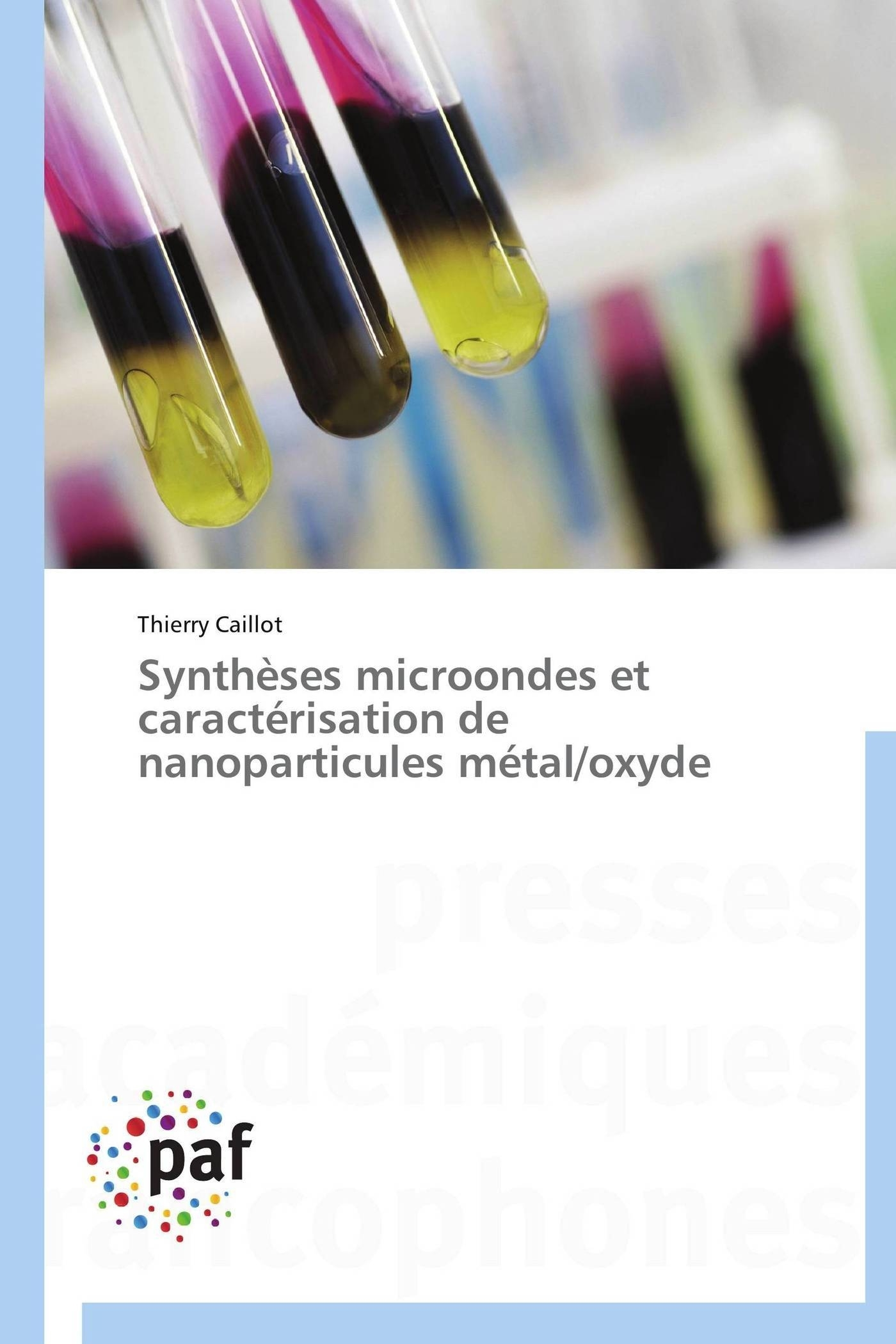 SYNTHESES MICROONDES ET CARACTERISATION DE NANOPARTICULES METAL/OXYDE