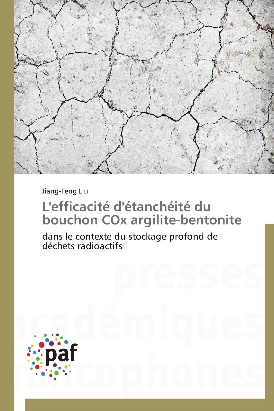 L'EFFICACITE D'ETANCHEITE DU BOUCHON COX ARGILITE-BENTONITE