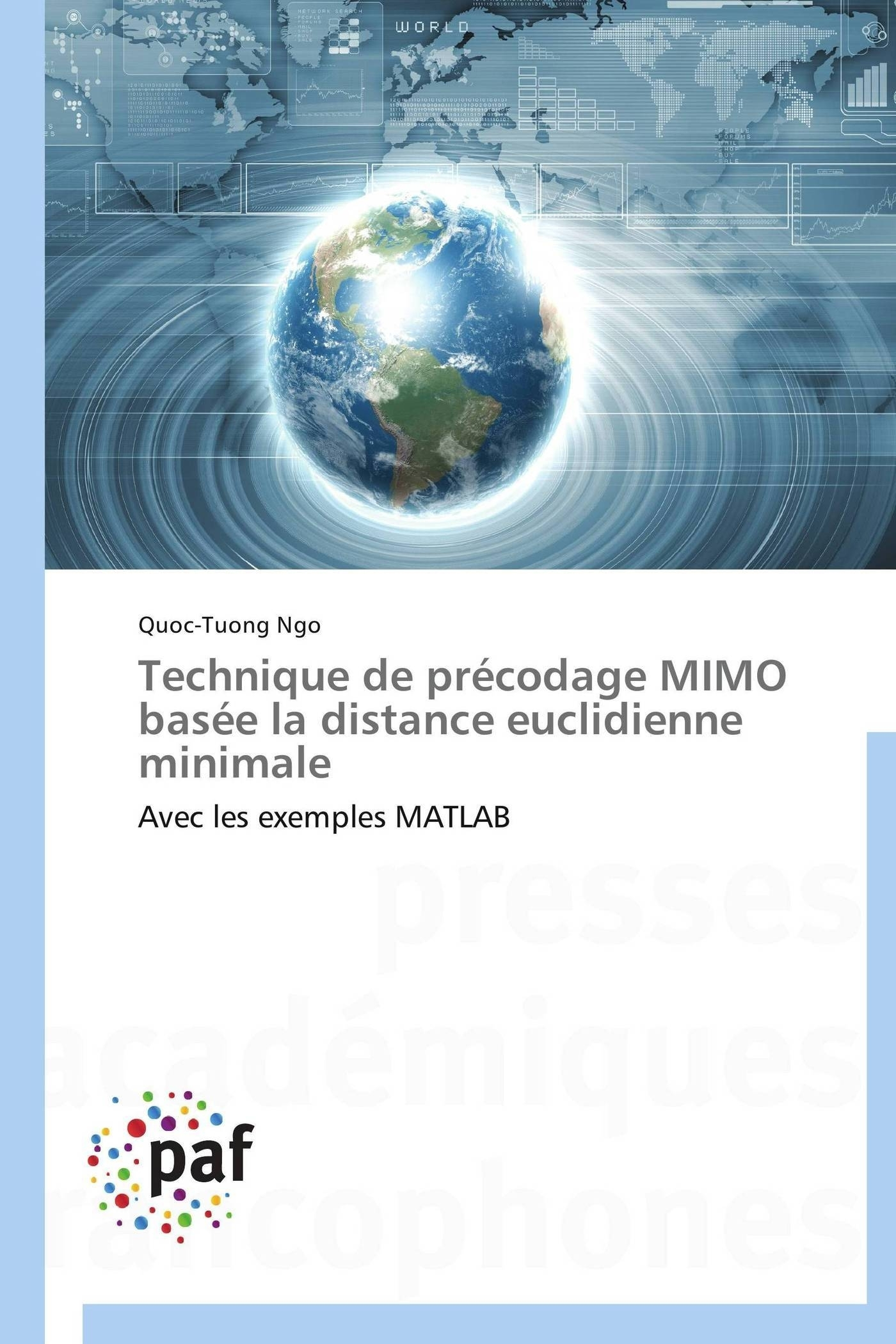 TECHNIQUE DE PRECODAGE MIMO BASEE LA DISTANCE EUCLIDIENNE MINIMALE