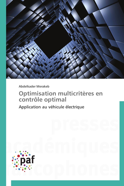 OPTIMISATION MULTICRITERES EN CONTROLE OPTIMAL