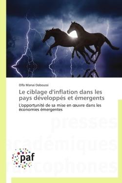 LE CIBLAGE D'INFLATION DANS LES PAYS DEVELOPPES ET EMERGENTS