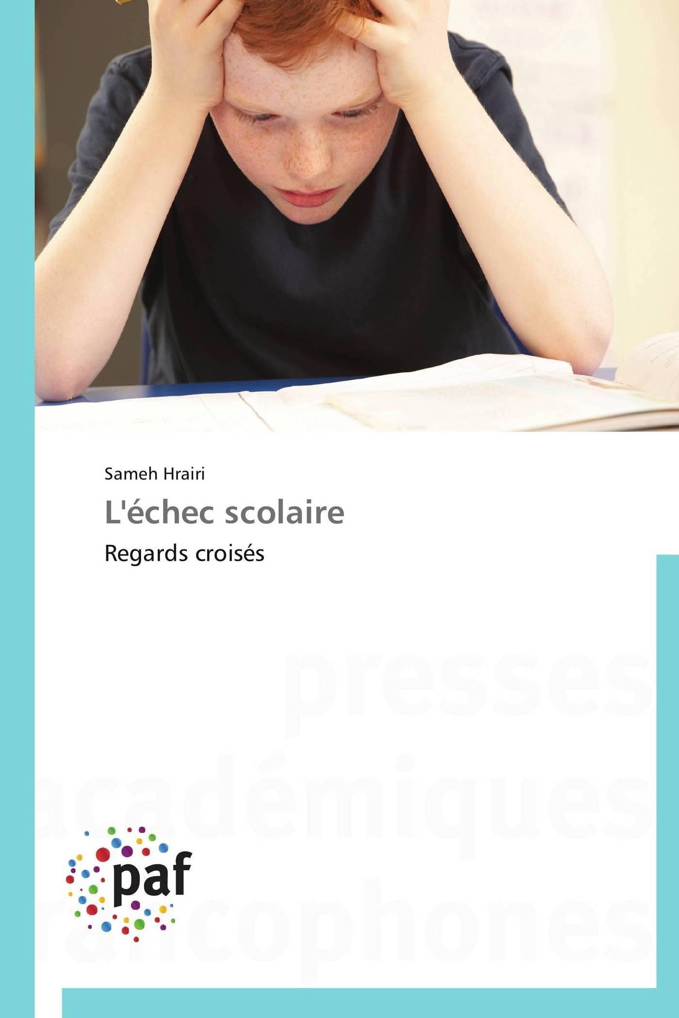 L'ECHEC SCOLAIRE