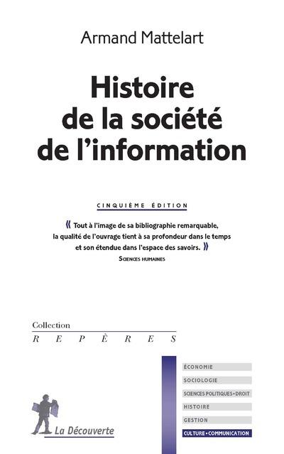 HISTOIRE DE LA SOCIETE DE L'INFORMATION