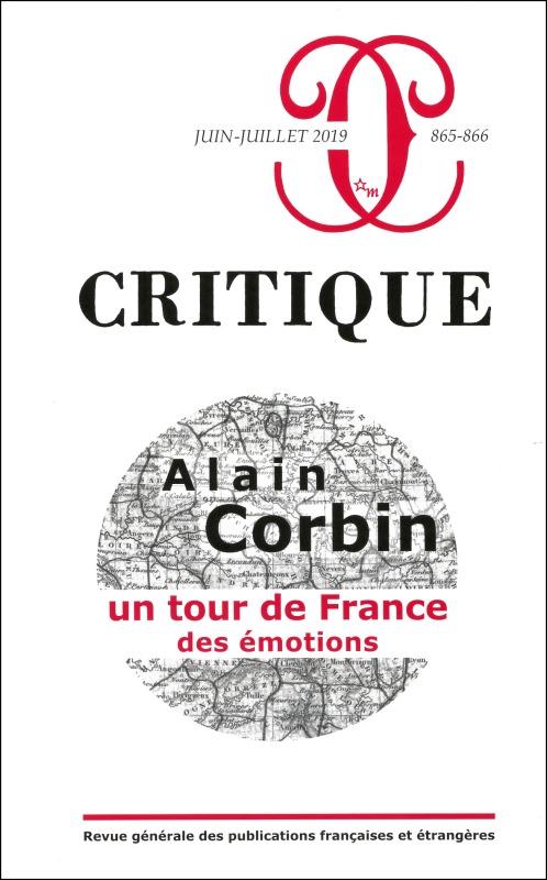 CRITIQUE 865 866 : ALAIN CORBIN. UN TOUR DE FRANCE DES EMOTIONS