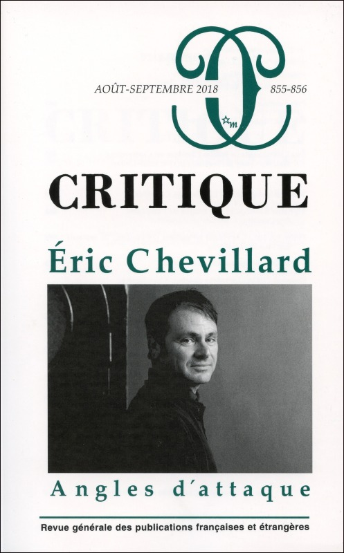 CRITIQUE 855-856  ERIC CHEVILLARD ANGLES D'ATTAQUE
