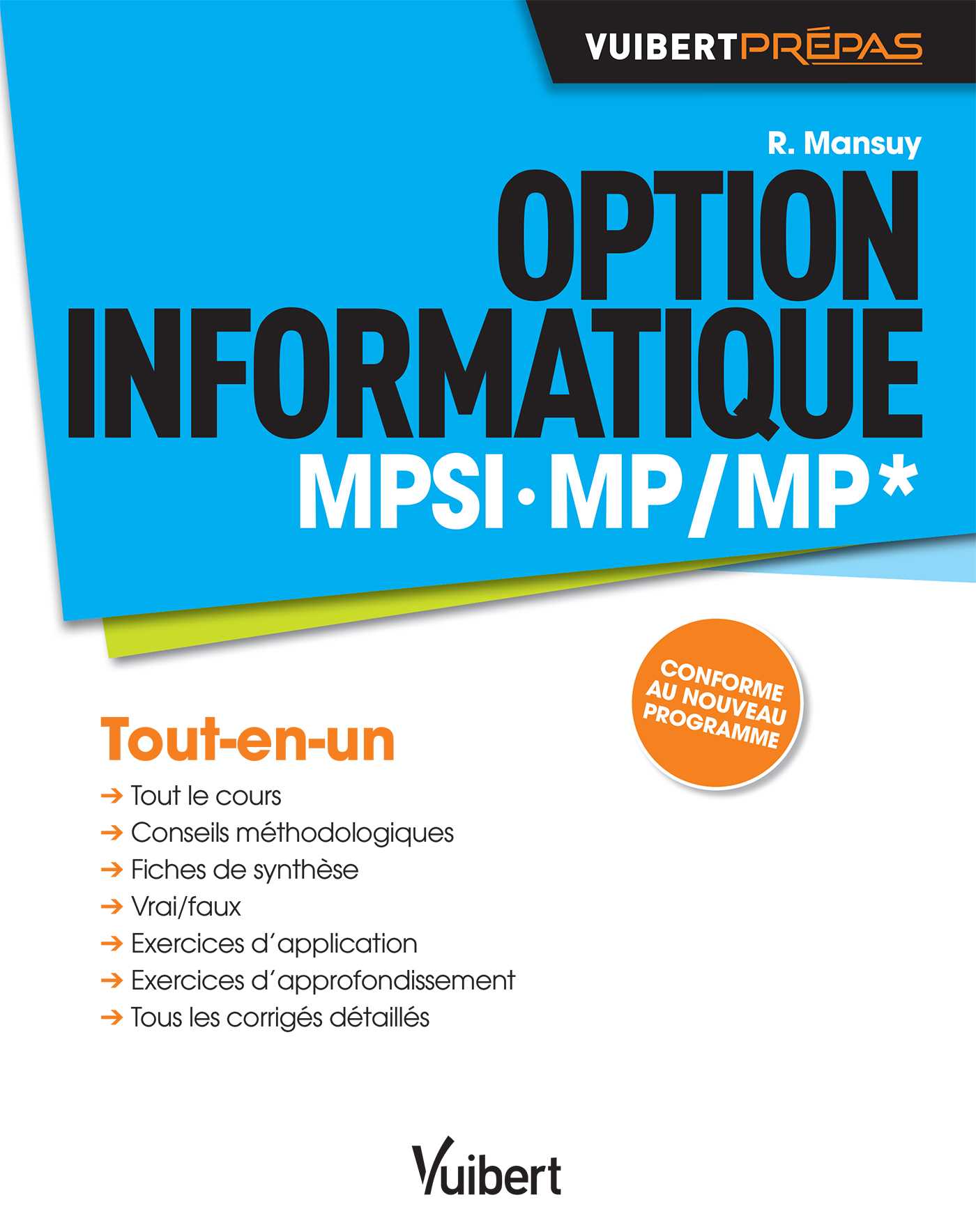 OPTION INFORMATIQUE MPSI MP MP