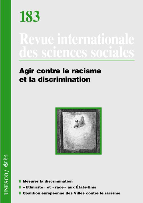 RISS 183 - AGIR CONTRE LE RACISME ET LA DISCRIMINATION