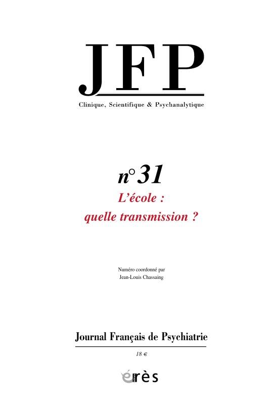 JFP 31 - L'ECOLE